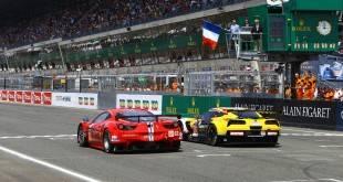 Départ 24 Heures du Mans 2015