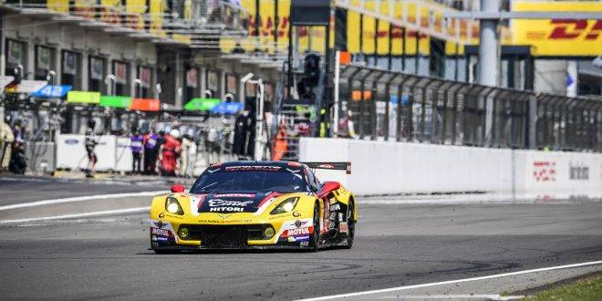 MOTORSPORT : FIA WEC - 6 HOURS OF NURBURGRING (DEU) - ROUND 4 07/22-24/2016 #50 LARBRE COMPETITION (FRA) CHEVROLET CORVETTE C7 LMGTE AM YUTAKA YAMAGISHI (JPN) PIERRE RAGUES (FRA) PAOLO RUBERTI (ITA)